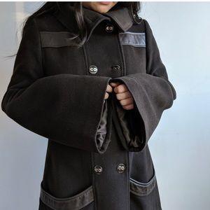 🔥HOST PICK🔥 MACKAGE Dark Brown Wool Coat